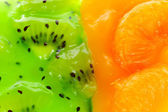 Oranges and kiwi. — Stock Photo