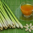 Stock Photo: Lemon grass tea.