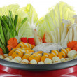 Stock Photo: Sukiyaki pot