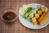 Set Fish ball. — Stockfoto