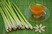 Lemon grass tea. — Stock Photo