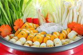 Sukiyaki pot — Stock Photo