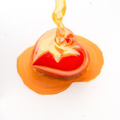 Heart honey. — Stock Photo