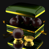 Box of chocolates. — Stock Photo