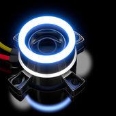 3d led ışıklar. — Stok fotoğraf