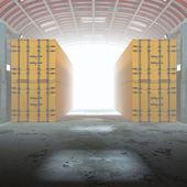3d warehouse. — Stockfoto