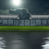 Edifici 3d. — Foto Stock