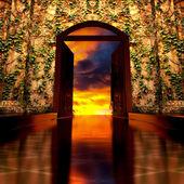 3d Heaven's Door. — Stock Photo