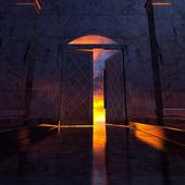 3 d の天国の扉. — ストック写真