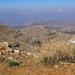 View from MtHermon, Israel — Stock Photo