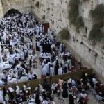 Jerusalem, Israel, Western Wall — Stock Photo #36690949
