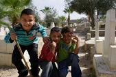 Refugee camp Balata, West Bank, Palestinian territory — Stock Photo