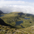 Seven Rila lakes (Sedemte rilski ezera), Rila mountains, Bulgaria — Stock Photo