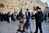 Western Wall, Jerusalem — Stock Photo