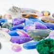 Beautiful gemstones background — Stock Photo #36523063