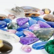 Beautiful gemstones background — Stock Photo #36523075