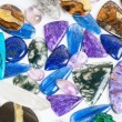 Beautiful gemstones background — Stock Photo #36523097
