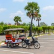 Tuk-Tuk motor on the Seim Reap airport — Stock Photo