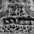 The Buddhism relief statue of Story in Cambodia Angkor Wat, Cambodia — Stock Photo