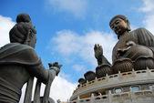 The Tian Tan Buddha in Hong Kong — Stock Photo