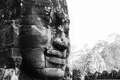 Angkor thom: chrám bayon — Stock fotografie