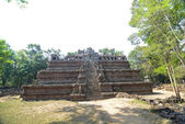 Ancient Royal Palace on the Angkor thom — Foto Stock