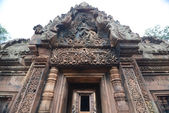 The Banteay Srei Temple — Stock Photo