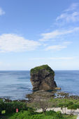 Sail rock in the kenting national park taiwan — Stock Photo