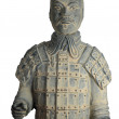 Terra Cotta Warriors by ancient china — Stock Photo