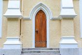 Gothic door — Stock Photo