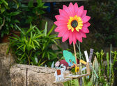 Colorful pinwheel — Stock Photo