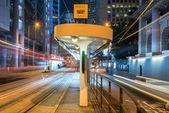 Tram Station of Bank Street — Stock Photo