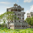 "The antique architectures of FangShi DengLou ""Light Tower"" in Kaiping County, Guangdong province, China — Stock Photo"