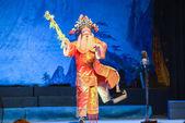 Geleneksel çince opera üzerinde çince ghost festivali performans bir performans — Stok fotoğraf