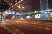 Ulica w nocy — Zdjęcie stockowe