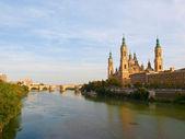 Zaragoza - Catedral del Salvador en su Epifanía de Zaragoza — Stock Photo