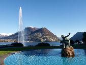 2013-Lake of Lugano — Stok fotoğraf