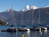 Lake of Como - Menaggio — Stock Photo
