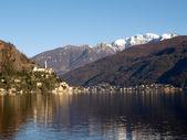 Switzerland - Lake of Lugano. view on Morcote. — Stockfoto