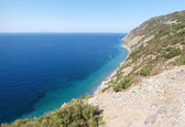 Elba Island, the cliffs of the West side — Stock Photo