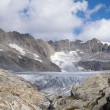 Glacier of the Rhone — Stock Photo