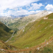 Alpine pass the Grimslepass — Stock Photo