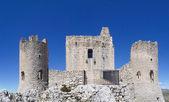 The park of Rocca Calascio, the Castle — Foto de Stock