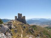 The park of Rocca Calascio, the Castle — Foto Stock