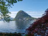 View of the Gulf of Lugano — Stock Photo