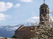 Gravedona, Santa Maria del Tiglio — Stock Photo