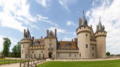 Chataeau Sully-s-Loire — Stock Photo