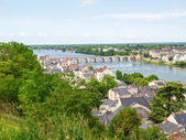 Ville de Saumur — Stock Photo