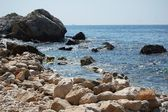 Seashore in Cap d Ail — Stock Photo