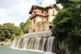 Nice. Waterfall Gairaut — Stock Photo
